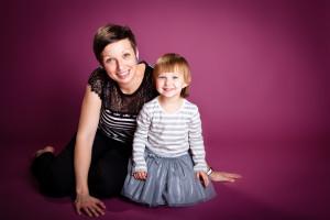 Jana s dcerou Eliškou